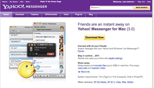Messenger Site Redesign